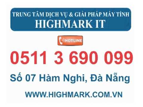 Mua ram laptop tại Đà Nẵng - 05113 690 099 - www.highmark.vn