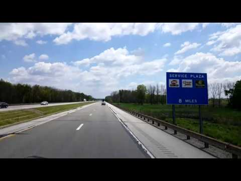 BigRigTravels LIVE! - Canfield, Ohio to Sideling Hill, PA Pennsylvania Turnpike East - May 23, 2016