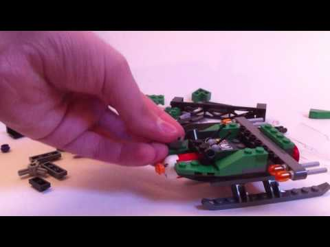 LEGO Live construction : Batwing battle over Gotham City (1/