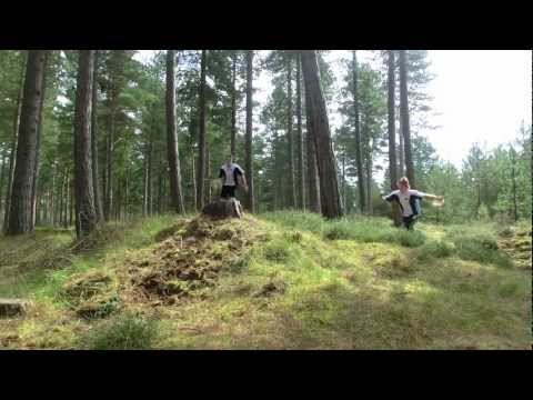 Forest Jump (A Short Freerunning/Orienteering Film)