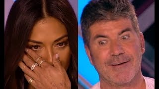 Top 3 Fun & Emotional Auditions  Simon Stops Them, His Girlfriend Applied For Him, Judges In TEARS!