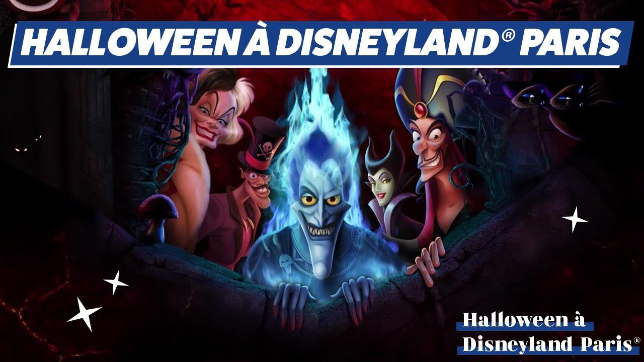 Disney Soiree Halloween.Soiree Halloween 2018 Disneyland Paris Youtube