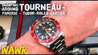 Browsing Watches at Tourneau - Rolex - Panerai - Cartier - and TUDOR - No Steel Sports Rolexes?!