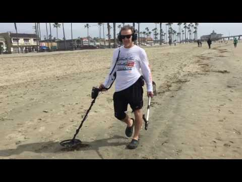 Newport Beach Metal Detecting At Pro Garrett