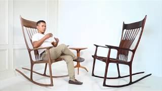 Sam Maloof Rocking Chair by NAZ
