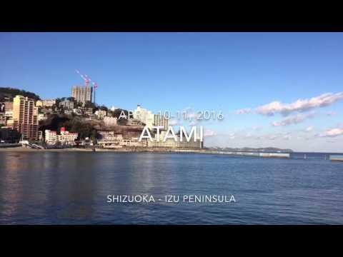 Japan: Atami, Shizuoka/Izu Peninsula - 10-11Apr16