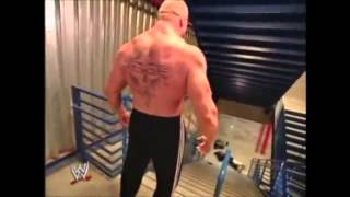 BROCK LESNAR HATES CRIPPLES