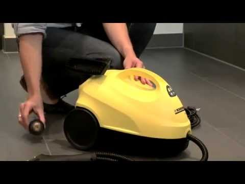 Karcher Sc 1020 Domestic Steam Cleaner Youtube