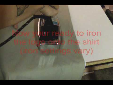 How to make your own custom t shirt at home - YouTube