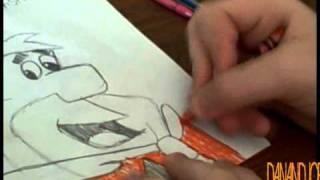 How to Draw Fred Flintstone
