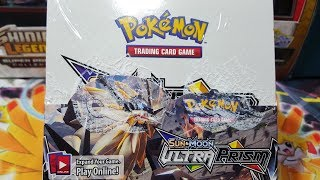 POKEMON ULTRA PRISM BOOSTER BOX OPENING