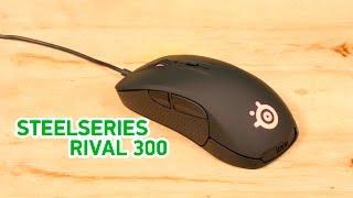 Steelseries Rival 300 - игровая мышь с топовым сенсором - Видео демонстрация