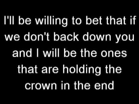Pillar - Frontline - Lyrics