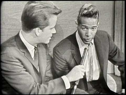 American Bandstand 1964- Interview Bobby Freeman - YouTube
