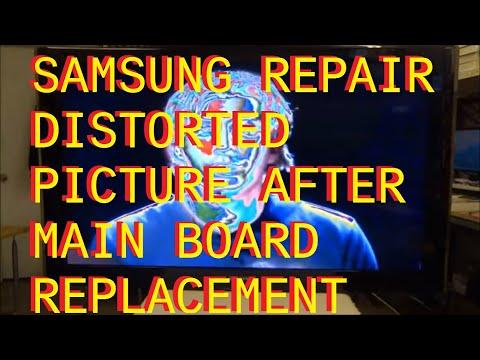 Lcd Tv Fault Repair Diagnostics Vertical Lines Funnydog Tv