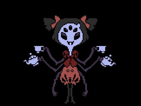 Undertale AU versions of spider dance