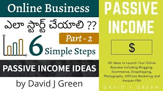 Passive Income Ideas in Telugu | How to start Online Business | Telugu Book Summary | Ascertain Solo