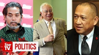 Nazri and Khairy hit out at Najib's adviser role in Barisan