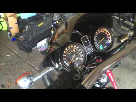1978 Yamaha XS750 Special leaking raw fuel