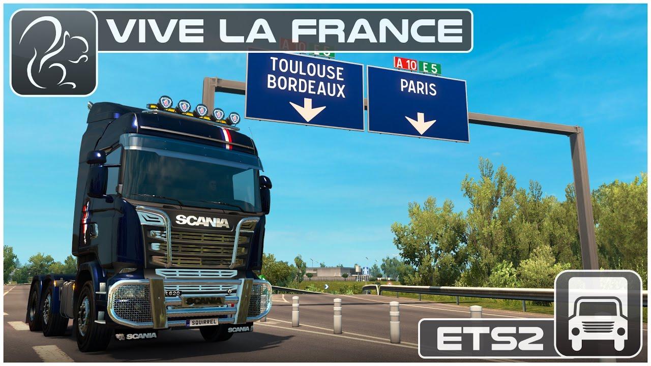 vive la france dlc euro truck simulator 2 youtube. Black Bedroom Furniture Sets. Home Design Ideas