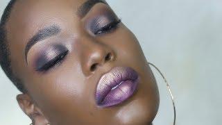 Purple Halo Eye Makeup Tutorial