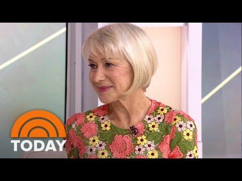 Helen Mirren On Life, Love, Her New Film… And Her Tattoo | TODAY