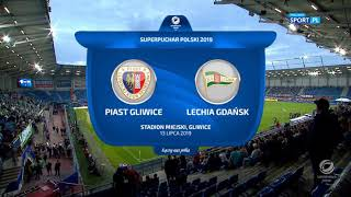 Superpuchar Polski: Piast Gliwice Lechia Gdańsk 1:3 skrót