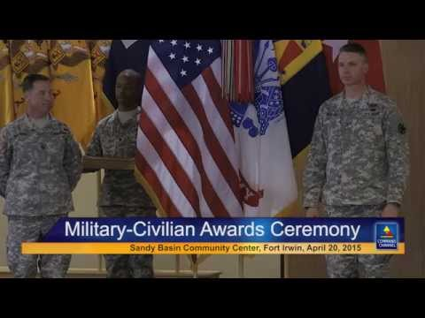 Military & Civilian Awards Ceremony, Sandy Basin Community Center, Fort Irwin, Calif