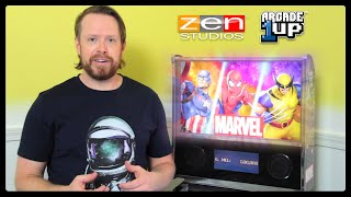 1st Gameplay Footage of Zen Studios & A1UP's Marvel Pinball Cab
