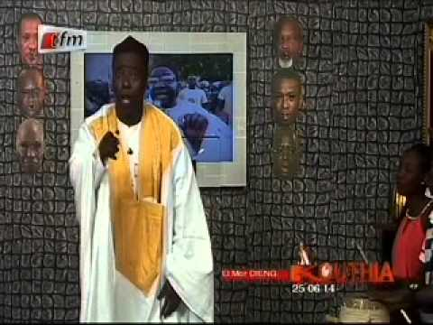 Kouthia Show  - El Mor Dieng -  25 Juin 2014