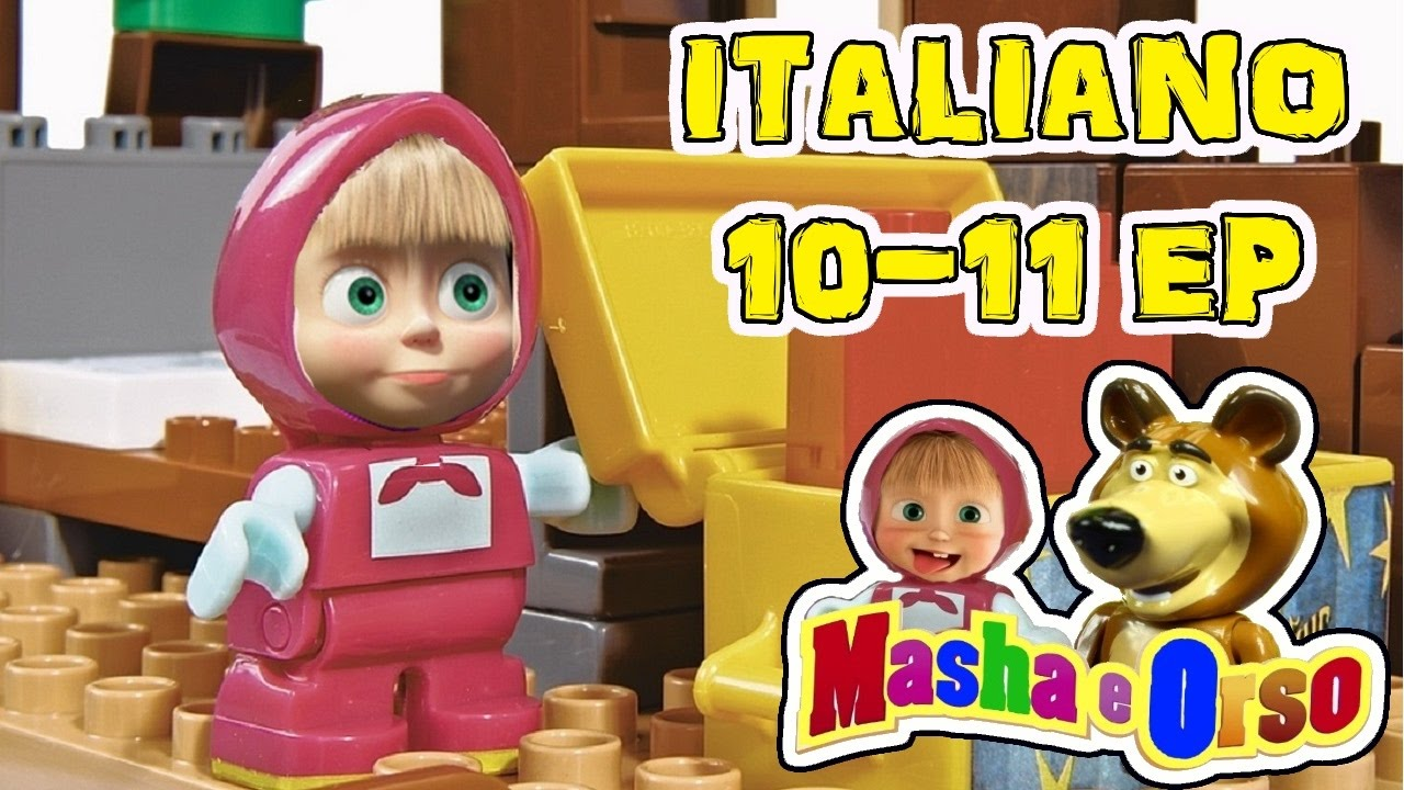 Masha e orso episodio in italiano super i