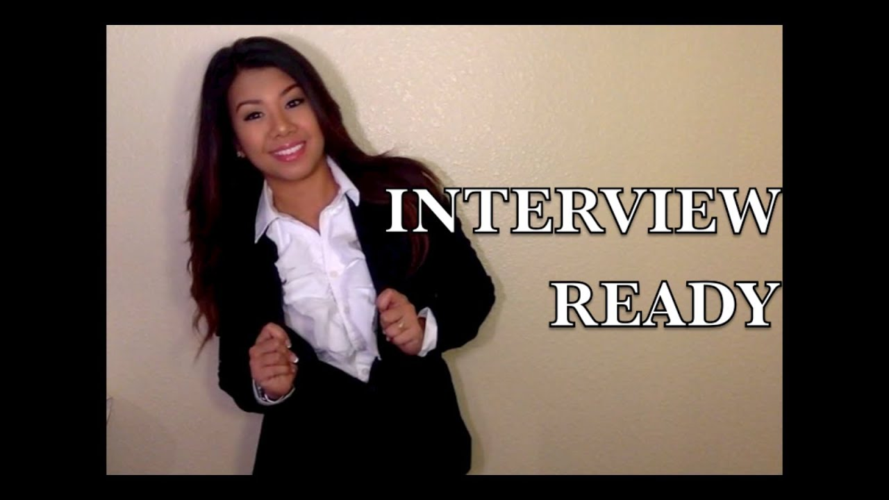 Interview Ready Hairstyles Amp More YouTube