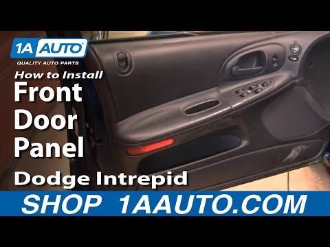 How To Remove Front Door Panel 1998-04 Dodge Intrepid