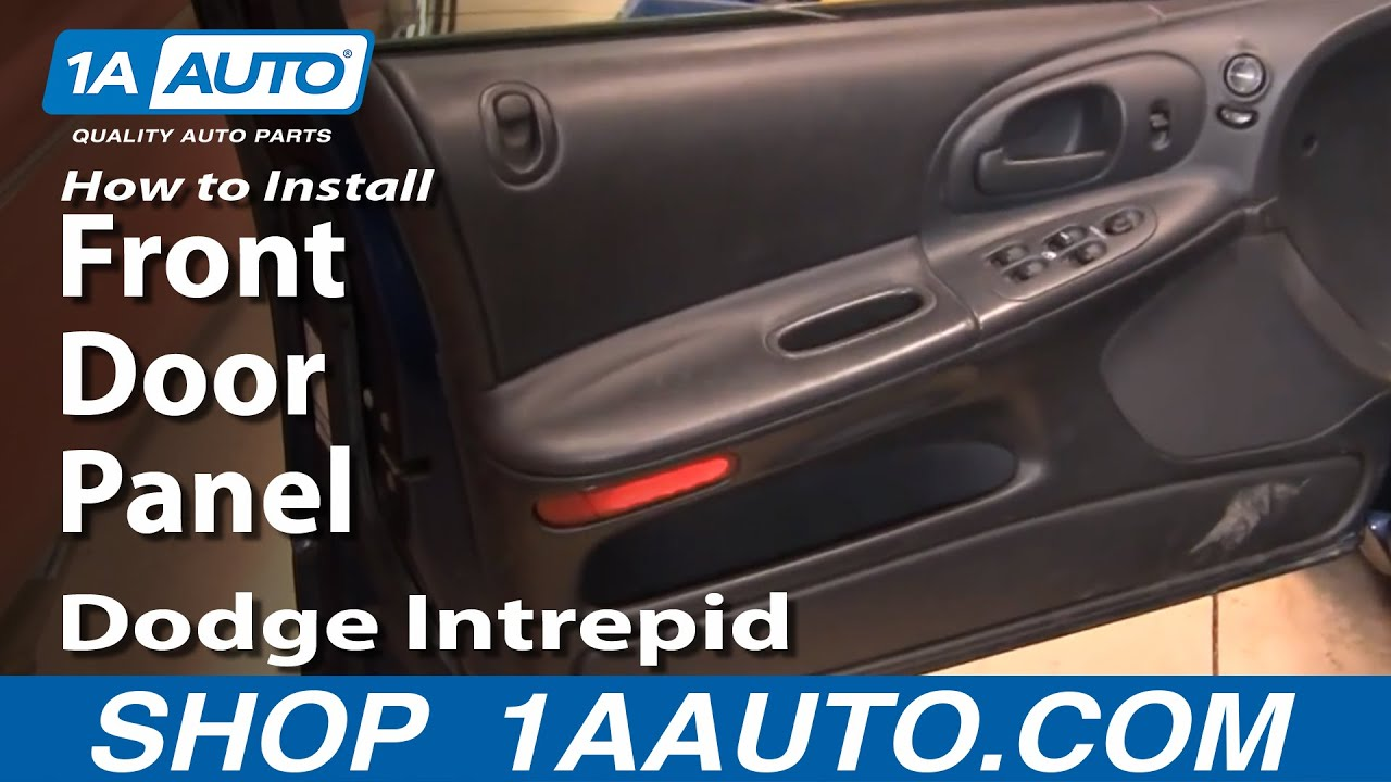 how to remove front door panel 1998 04 dodge intrepid 1a auto parts [ 1280 x 720 Pixel ]