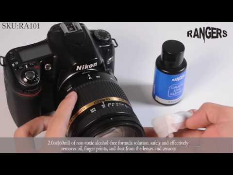 Rangers Camera 9 Piece Cleaning Kit RA101