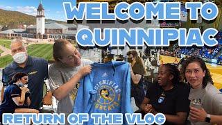 Quinnipiac Women's Basketball Summer VLOG | Introducing Our New Staff!