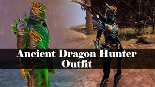 Ancient Dragon Hunter Outfit Style Armor Weapons The Elder Scrolls Online Eso fashion | legendary dragon arms pack (elder scrolls online) source: ancient dragon hunter outfit style armor weapons the elder scrolls online