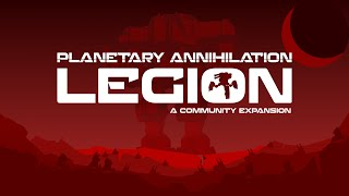 Planetary Annihilation TITANS - 6P FFA LEGION NEW FACTION MOD | Multiplayer Gameplay