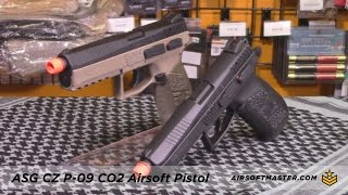ASG CZ P-09 CO2 Gas Blowback Pistol