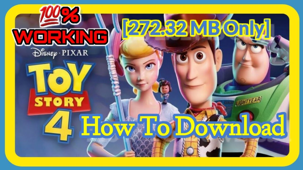 """How to download """"Toy Story 4""""_full movie in hindi/urdu dubbed"""