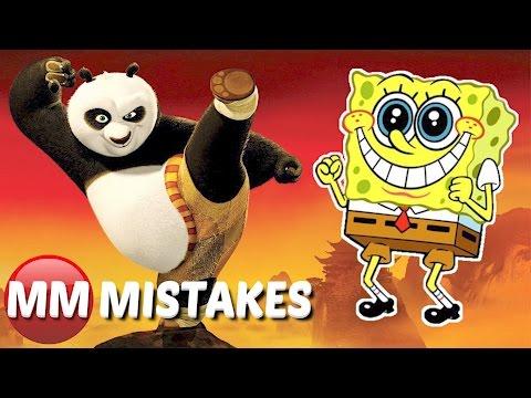 10 Terrible Mistakes In Animated Movies | Storks | Spongebob | Kung Fu Panda - Movie Mistakes