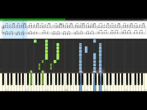 Blur - Song 2 [Piano Tutorial] Synthesia