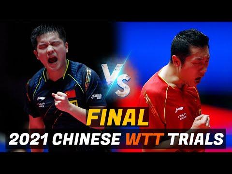 Download Fan Zhendong vs Xu Xin   2021 Chinese WTT Trials and Olympic Simulation (FINAL)