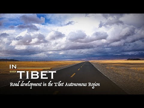 In Tibet: Road development from isolated to well-connected