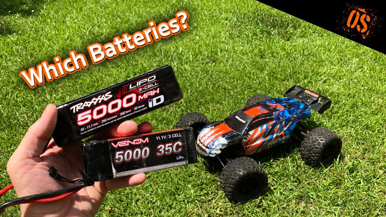 I Changed My Mind About Traxxas Batteries And Compared Them To Some Venoms