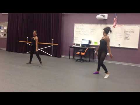 Cleveland School of the Arts dancers dancing to Work by Rihanna