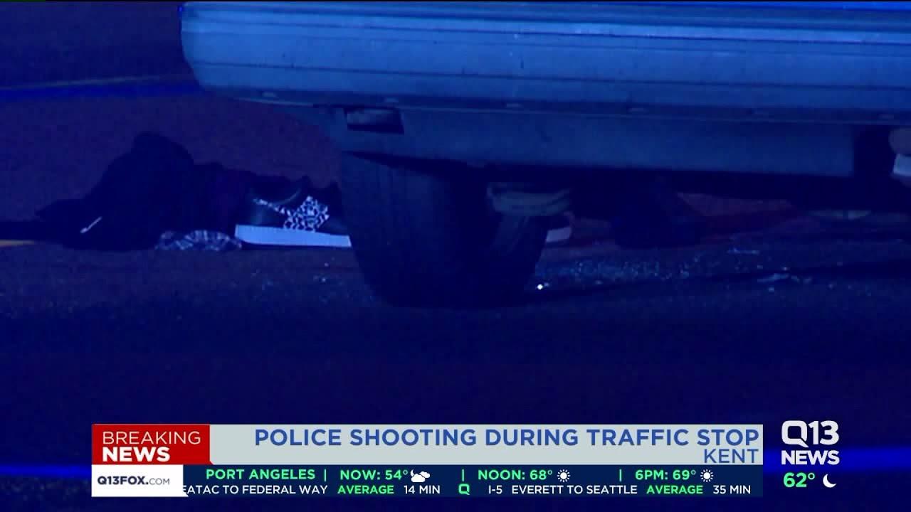 Kent officer shoots teen during traffic stop