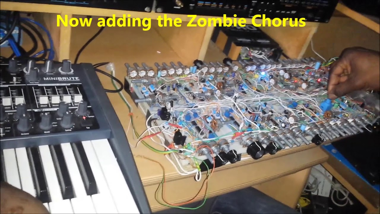 Diy Analog Synth Project Part 10j Sound Examples Pads N Strings Etc