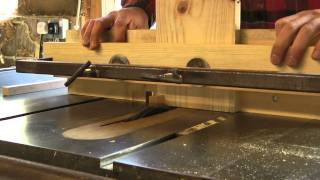 Creating box joints with a table saw