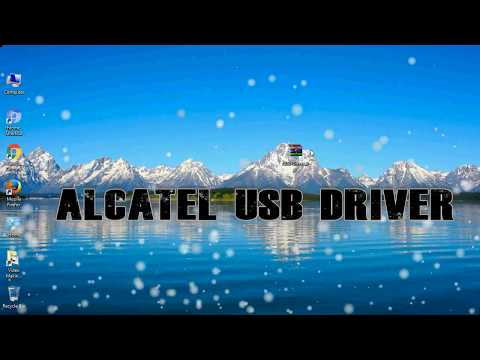 How To Install Alcatel USB Driver For Windows | ADB And FastBoot